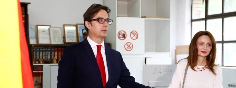 N Macedonia Presidential polls: Ruling party candidate leading