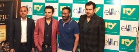 Elan Group with Ajay Devgn's NY Cinemas to set up multiplex in Gurugram
