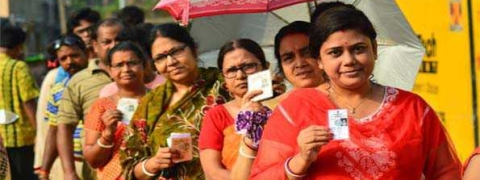 Around 72 per cent turnout in violence-marked polling in Bengal