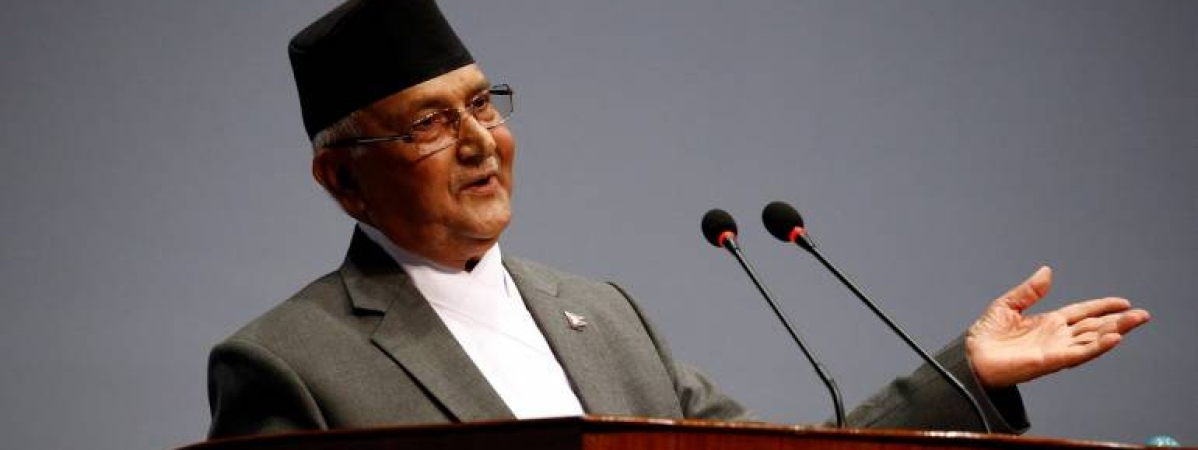 Oli's foreign visit: Qs being asked -- why?