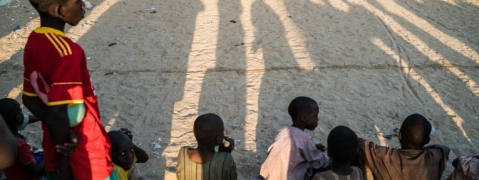 Nearly 900 children released by north-east Nigeria armed group
