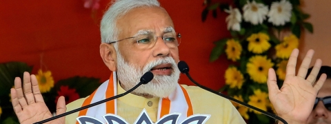 I shall combat water woes: Modi