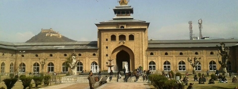 Historic Jamia Masjid opens in Srinagar