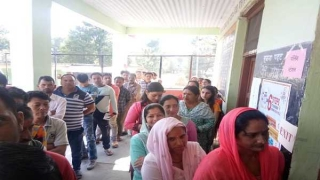 Polling begins for four parliamentary constituencies in HP