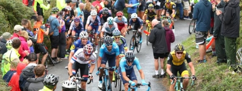 Mountains and dales dominate gruelling Tour of Britain