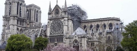 Notre Dame fire: French MPs pass law to rebuild Cathedral