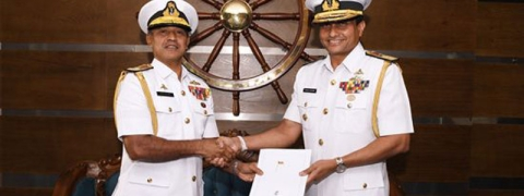 Sri Lanka: Rear Admiral Ulugetenne new Navy Chief