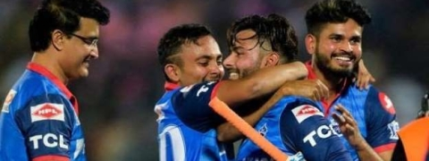DC beat RR by five wickets, move to second spot