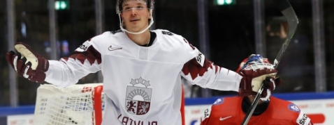 Latvia beat Norway to take fifth place at ice hockey worlds