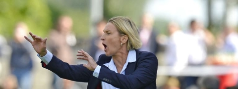 "Germany coach wants ""step by step"" at FIFA Women's World Cup"