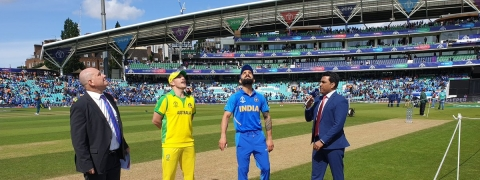 India win toss, opt to bat first