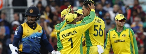 Australia beat Sri Lanka by 87 runs