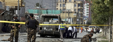 At least five killed, 10 injured in bus bomb blast in Afghanistan