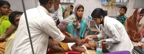 Children's deaths: Five teams of medical experts to Bihar