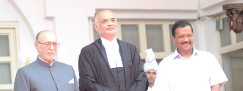 Justice Dhirubhai Naranbhai Patel sworn in as Delhi CJ