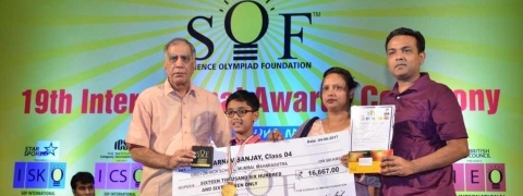 Three students from Kerala win Olympiad Award