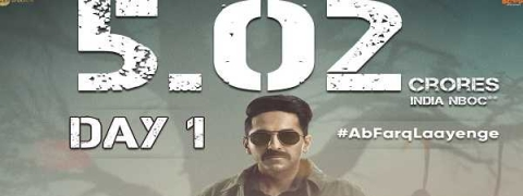 'Article 15' keeps strong hold on BO, charts Rs 5.02 cr on day 1