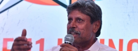 Kapil Dev unveils daily fantasy sports platform