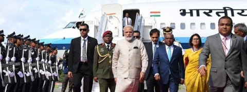 NaMo conferred highest honour by Maldives, both sides ink MoUs, inaugurate two defence projects