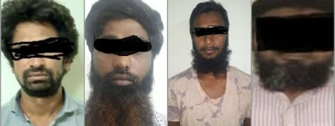 Arrested Bangladeshi terrorists were escaping arrests: Police