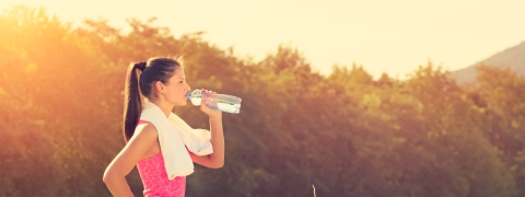Keep yourself hydrated to beat the heat