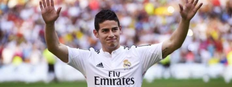 Decision on my future lies with Real Madrid: James