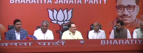 4 TDP MPs join BJP