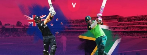WC: Toss delayed due to wet outfield
