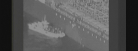 US releases video showing alleged Iran's forces removing mine from tanker