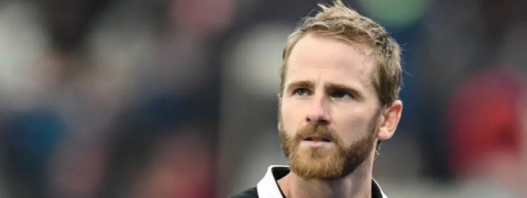 NZ skipper Kane Williamson falls