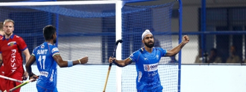 India beat Russia 10-0 in FIH Men's Series Finals