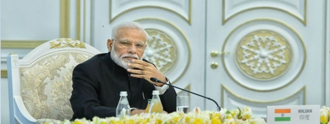 PM Modi gives clarion call to fight terrorism
