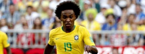 Willian called up to Brazil squad for Copa America