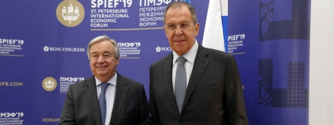 Russia: New technology a 'vector of hope' but 'source of fear', says Guterres