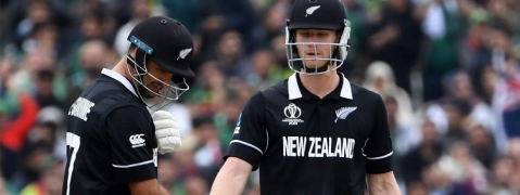 WC: New Zealand hits 237/6
