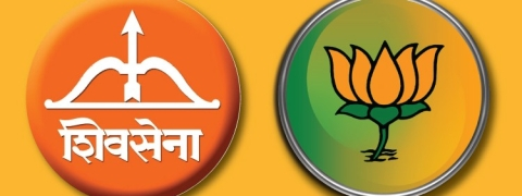 Maharashtra: Saffron alliance to share equal seats in assembly polls