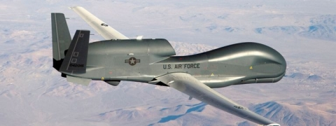 US drone shot down, claims Iran