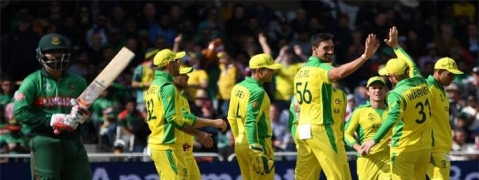 Australia beat Bangladesh by 48 runs