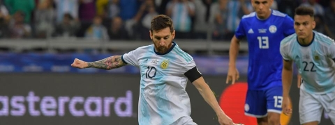 Messi hits out at Copa America pitches