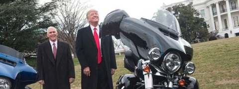 Trump for zero tariff on American motorcycles