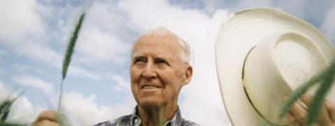 Norman Borlaug, the man who helped feed world