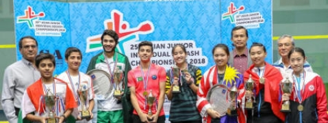 Asian Jr. Squash : Veer Chotrani ousts top seed, medals for 7 Indians