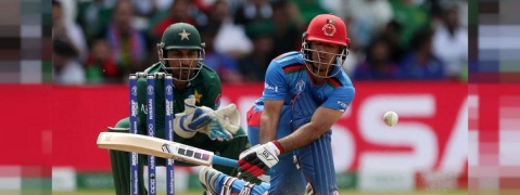 Pakistan restricts Afghanistan to 227/9