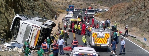Twenty-four killed in S Africa road accident