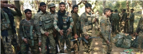 ITBP busts naxal camp on Chhattisgarh-Mah border