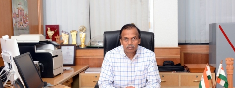 K M Shivakumaran assumes charge as BEL Director (HR)