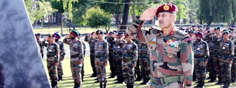 GOC 16 Corps lauds soldiers, officers on 48th Raising Day