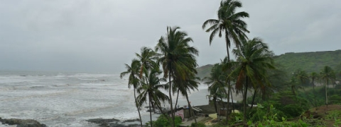 Monsoon rains continue to pound Goa