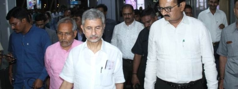 Jaishankar & Thakor file nominations for Rajya Sabha  by-polls