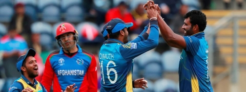 World Cup:  Sri Lanka beat Afghan by 34 runs